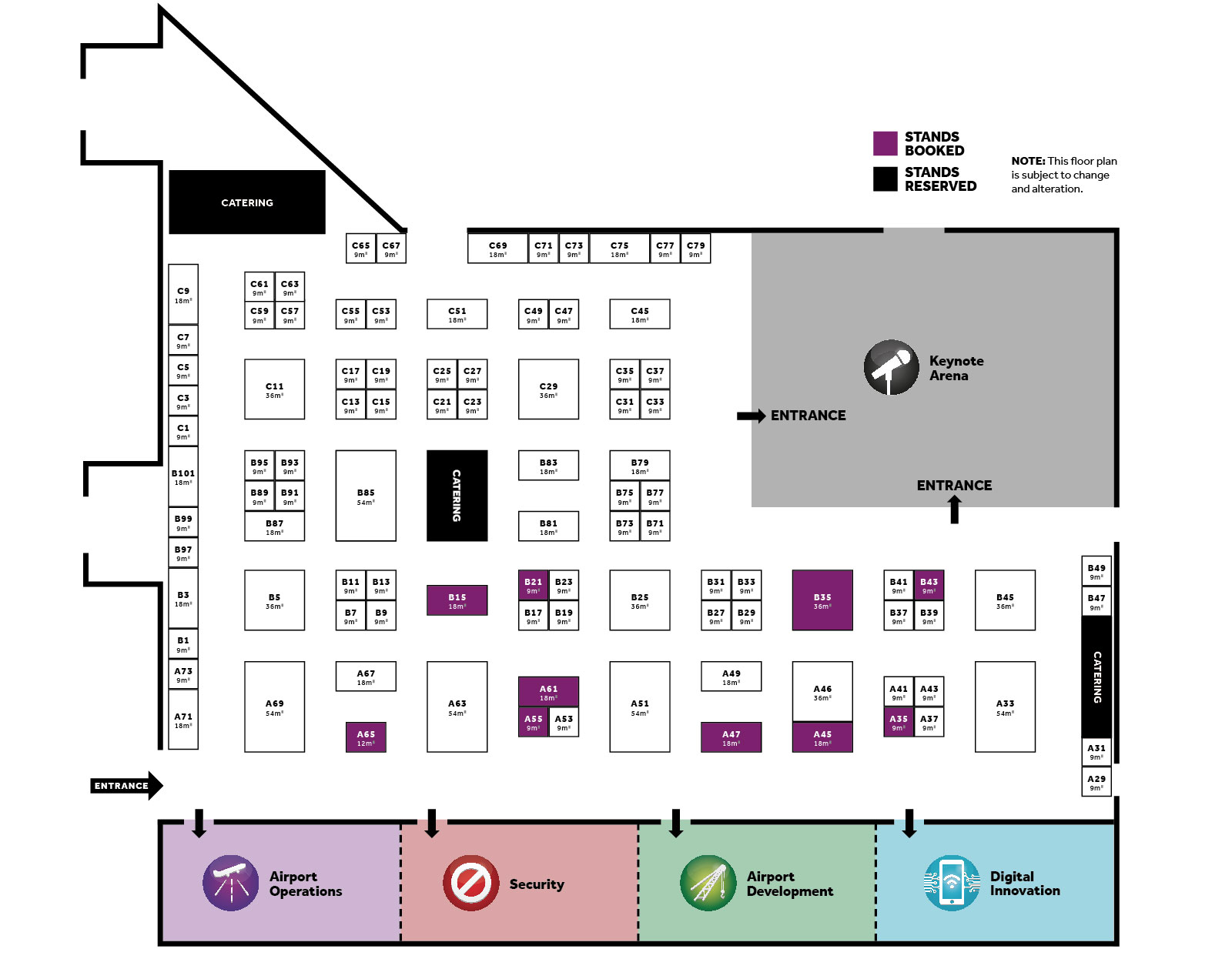 Airport exchange 2018 floorplan